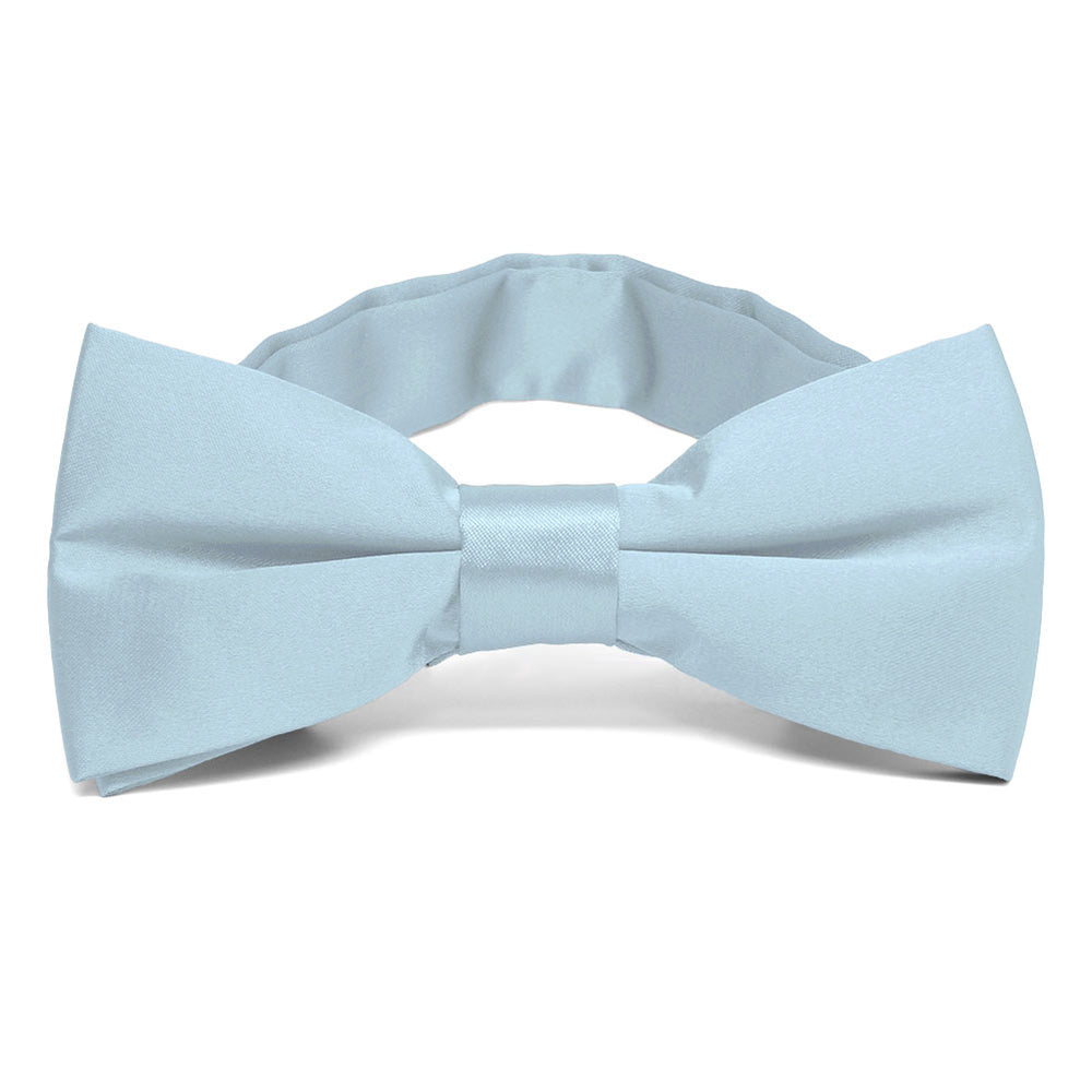 Pale Blue Band Collar Bow Tie