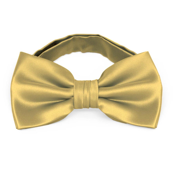 Light Gold Premium Bow Tie