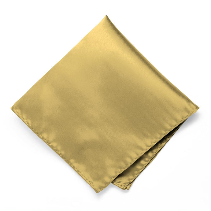 Light Gold Premium Pocket Square