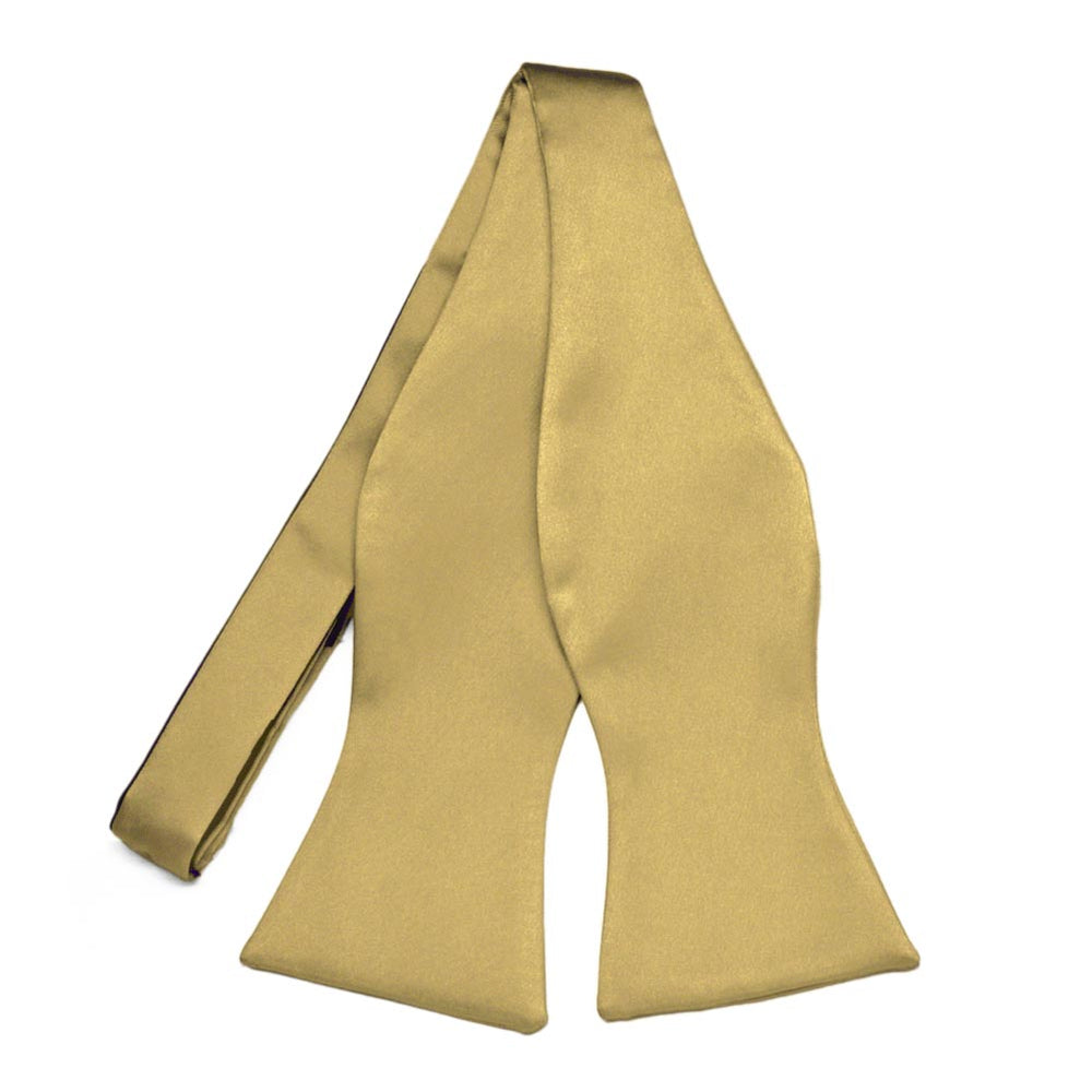 Light Gold Premium Self-Tie Bow Tie