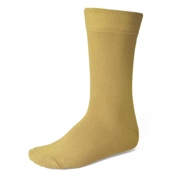 Men's Pale Gold Socks