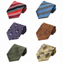Load image into Gallery viewer, Pattern Neckties, 6-Pack
