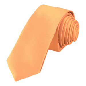 "Peaches and Cream Skinny Necktie, 2"" Width"