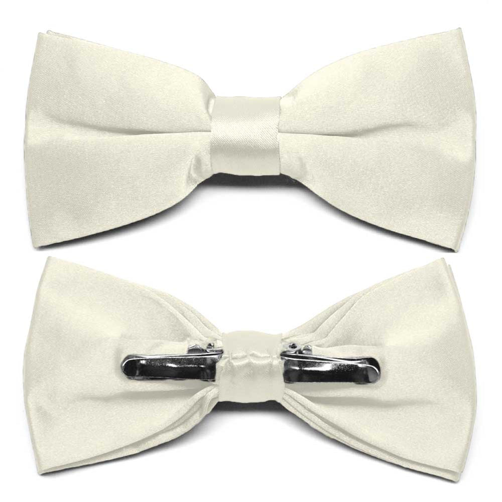 Pearl Clip-On Bow Tie