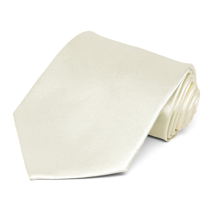Pearl Extra Long Solid Color Necktie