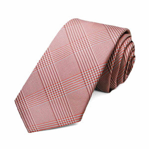 Persimmon Jamestown Glen Plaid Slim Necktie