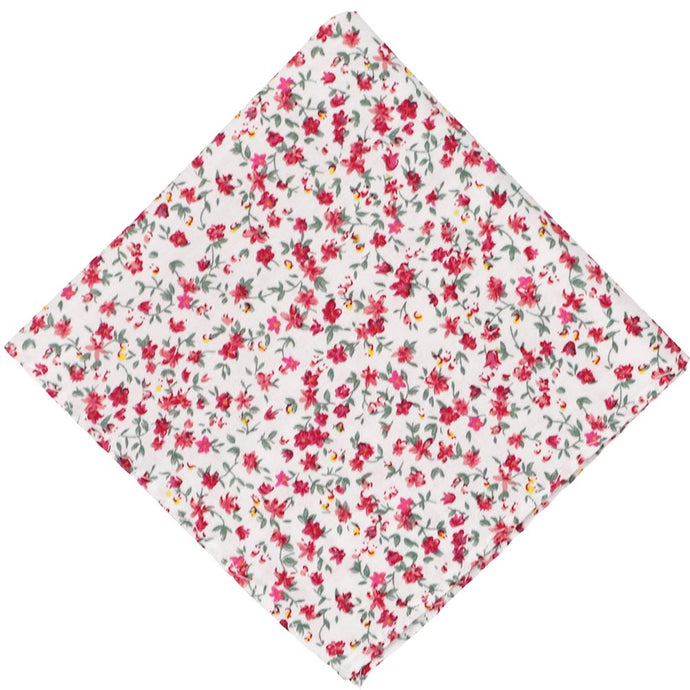 Alameda Floral Cotton Pocket Square