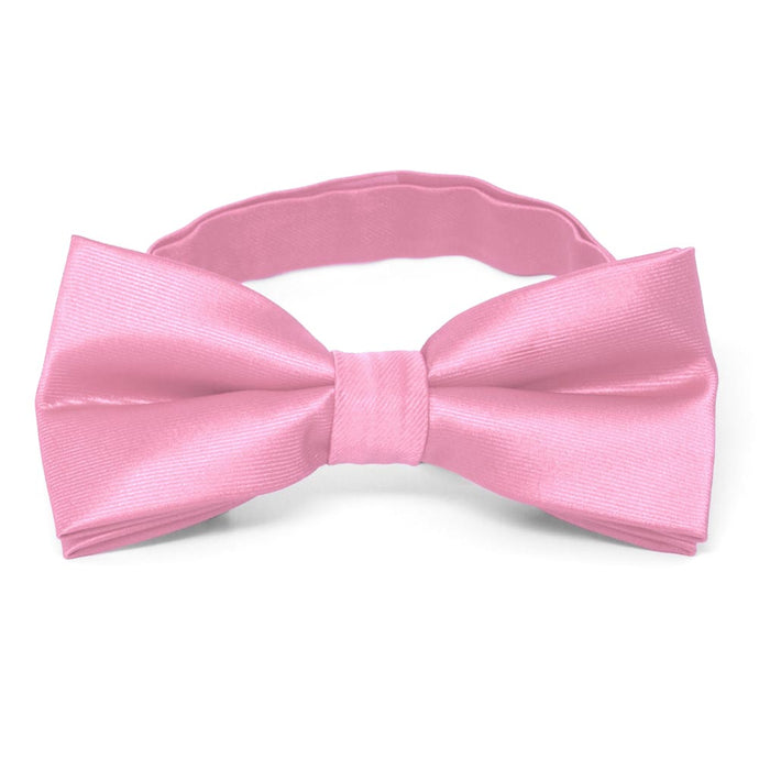 Pink Band Collar Bow Tie