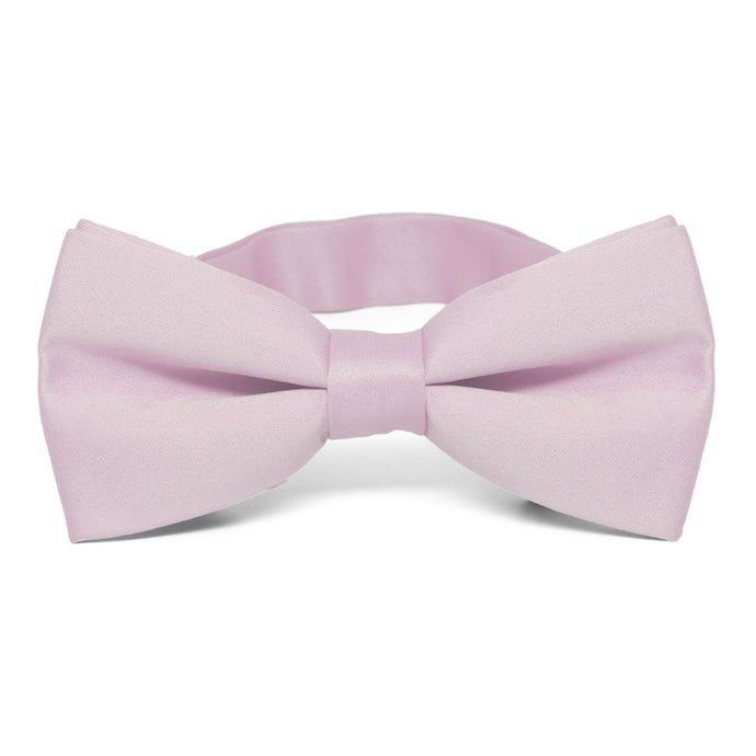 Pink Lavender Band Collar Bow Tie