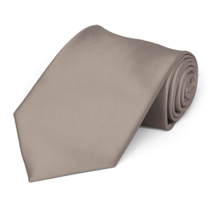 Portobello Premium Extra Long Solid Color Necktie