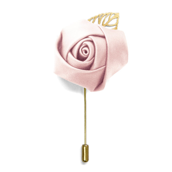 Princess Pink Premium Flower Lapel Pin