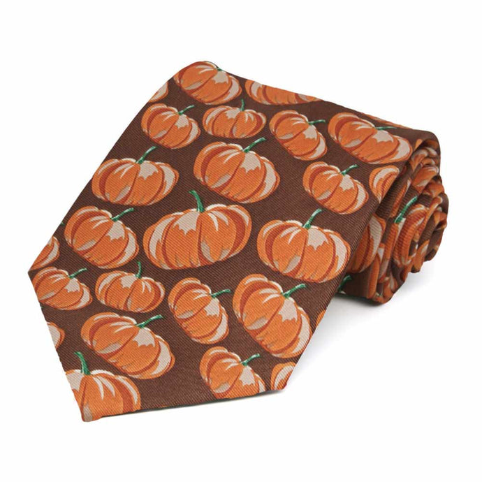Pumpkin Themed Necktie