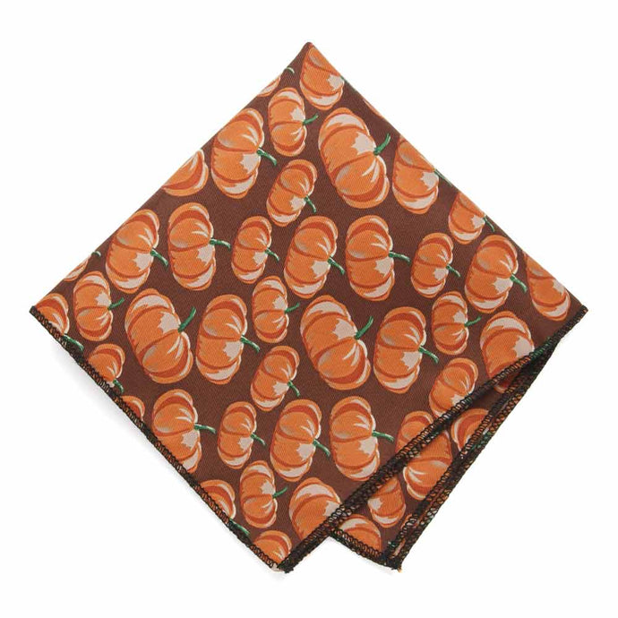 Pumpkin Themed Pocket Square