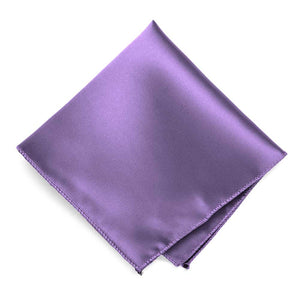 Purple Solid Color Pocket Square