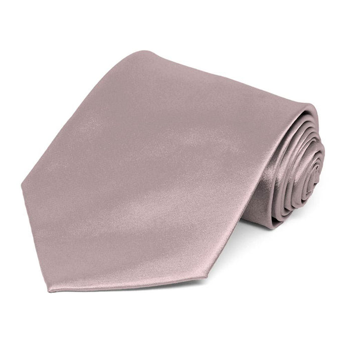 Quartz Extra Long Solid Color Necktie