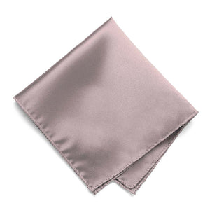 Quartz Solid Color Pocket Square
