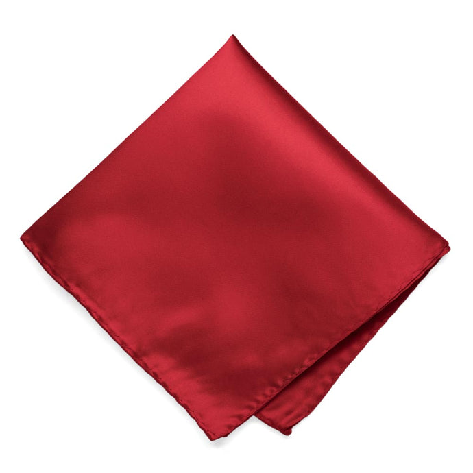 Red Premium Pocket Square