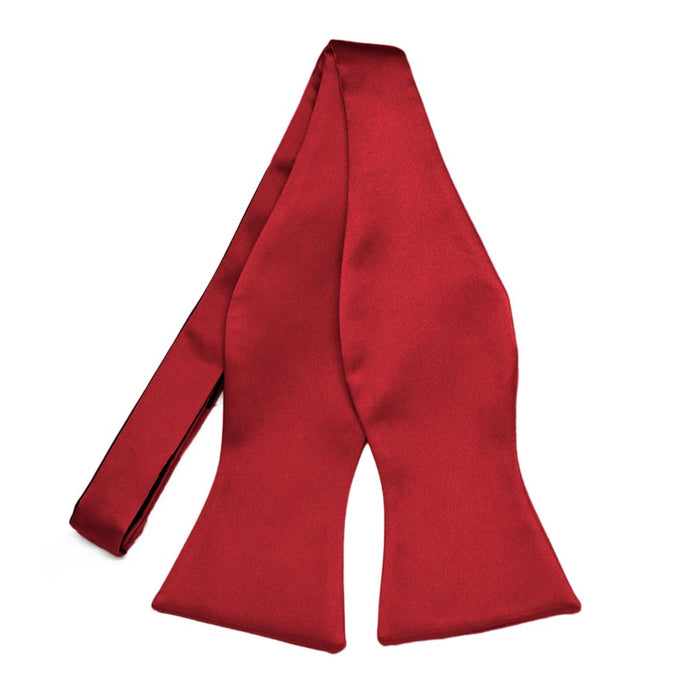 Red Premium Self-Tie Bow Tie