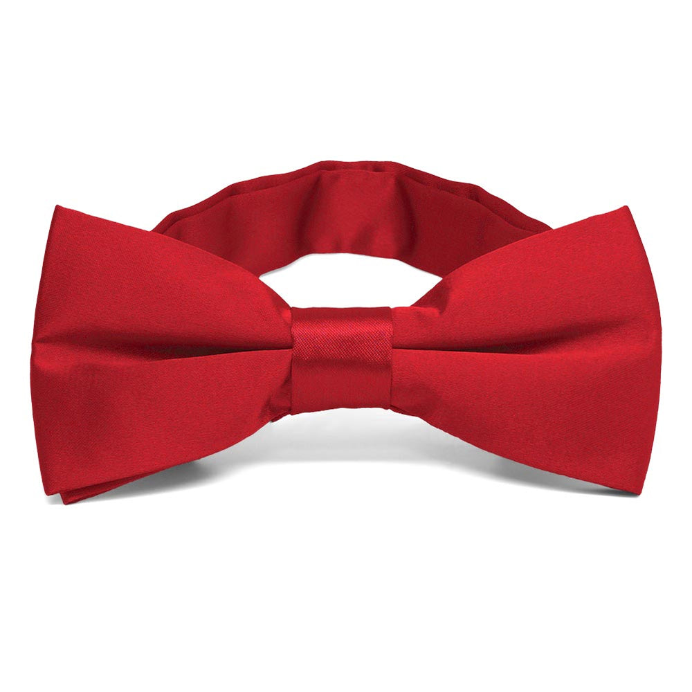 Rouge Red Band Collar Bow Tie