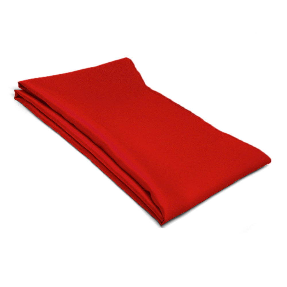Red Solid Color Scarf