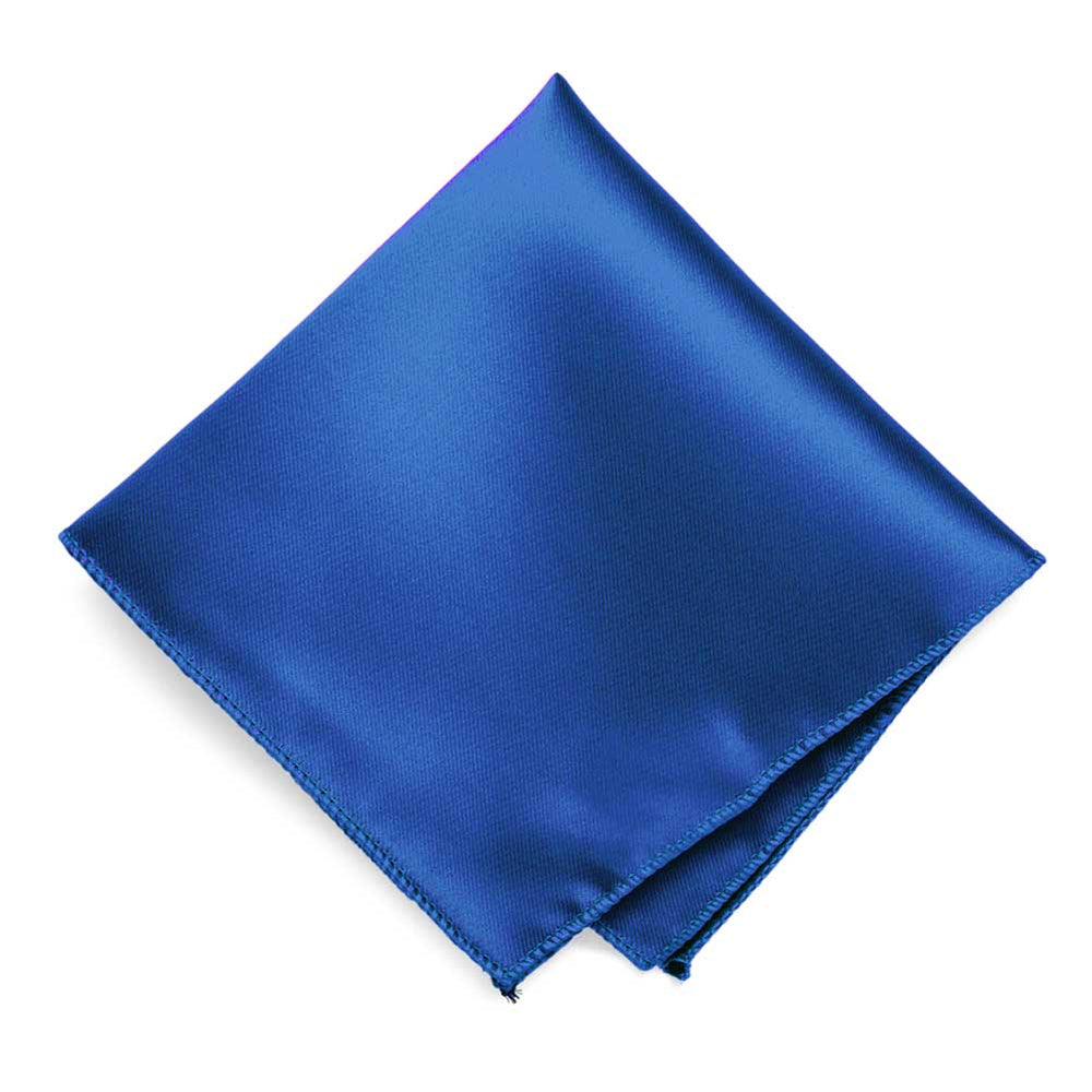 Royal Blue Solid Color Pocket Square