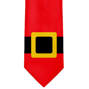 A red Santa belt tie.