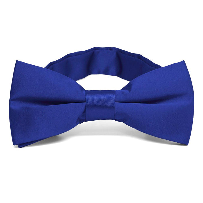 Sapphire Blue Band Collar Bow Tie