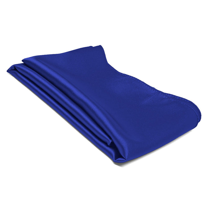 Sapphire Blue Solid Color Scarf