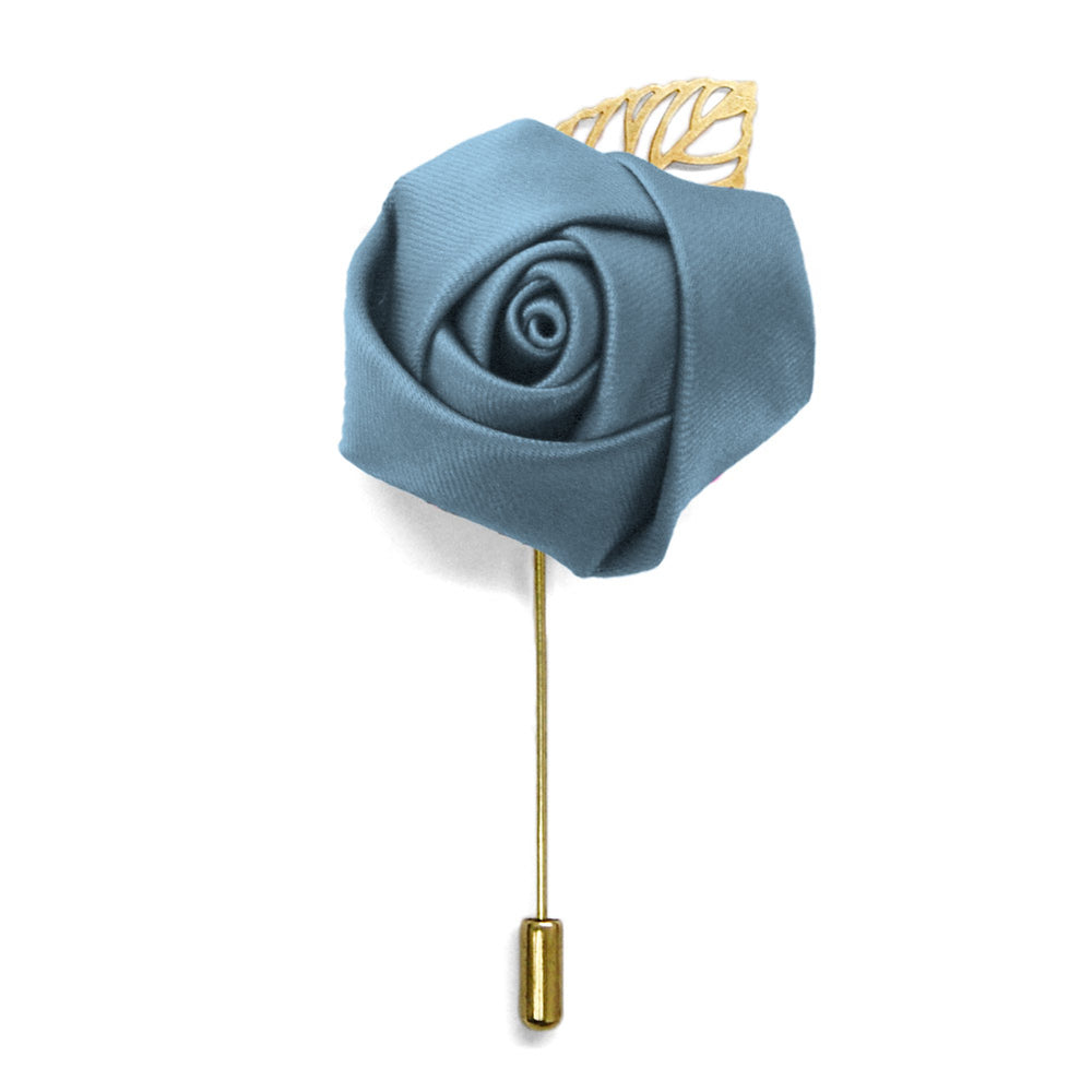 Serene Premium Flower Lapel Pin