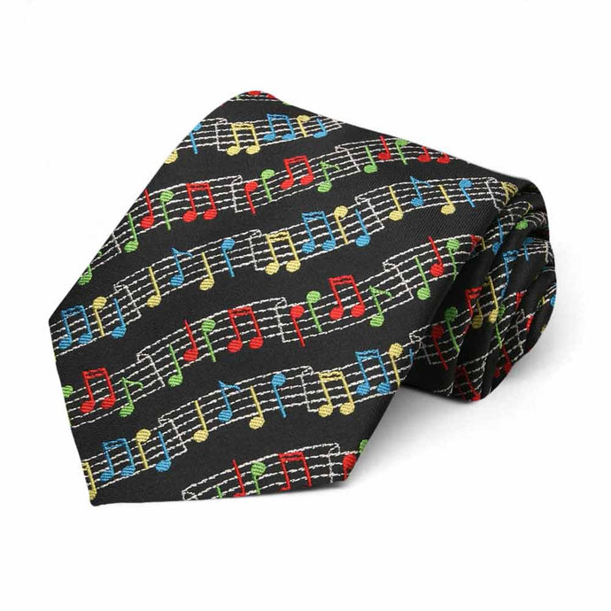 Sheet Music Necktie