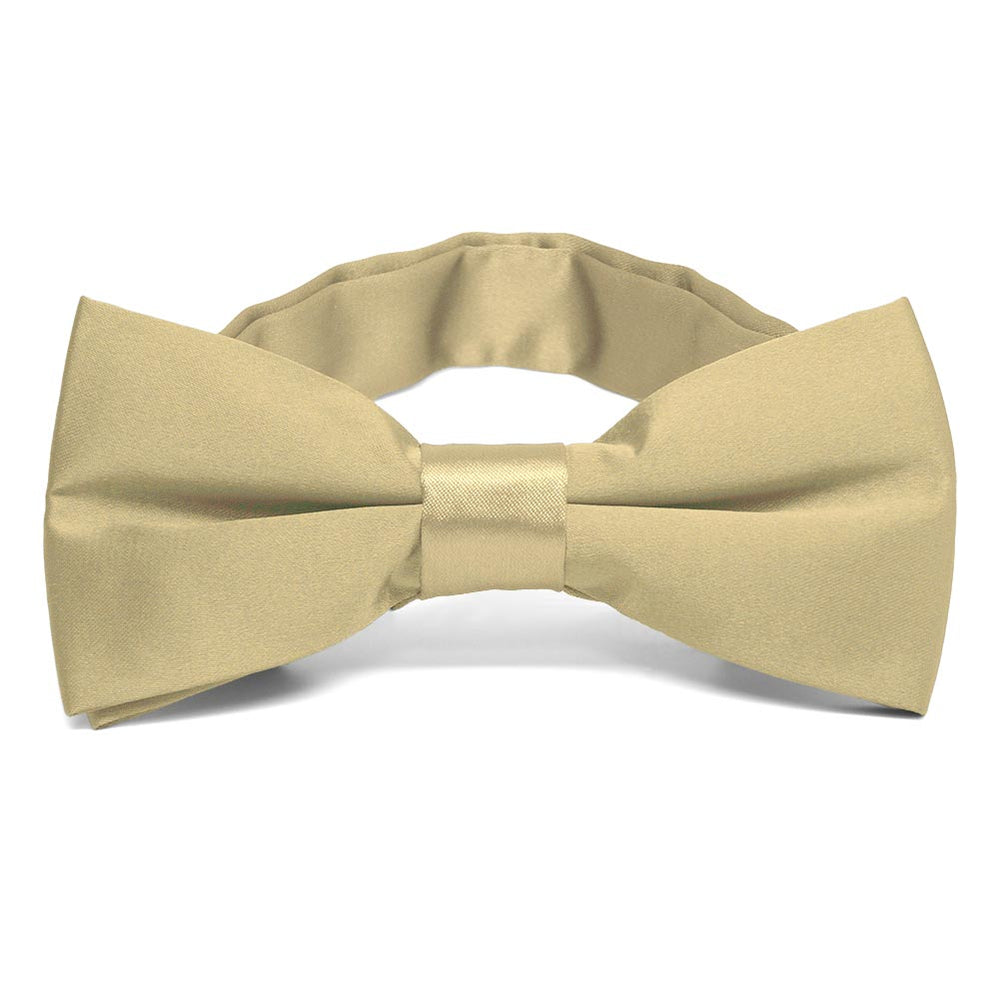 Sparkling Champagne Band Collar Bow Tie