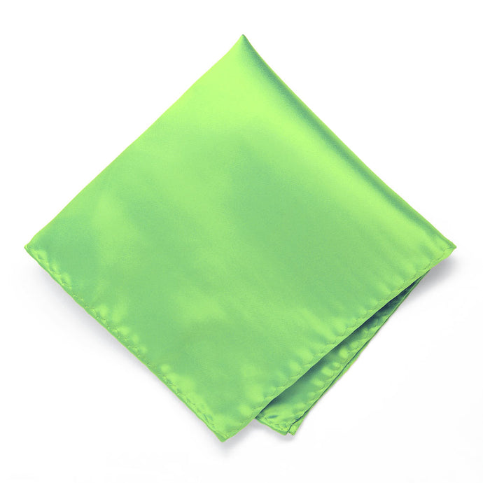 Spring Green Premium Pocket Square