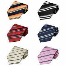 Load image into Gallery viewer, Striped Neckties, 6-Pack