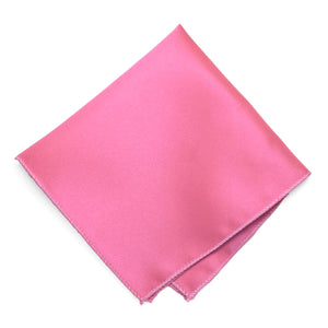Taffy Pink Solid Color Pocket Square
