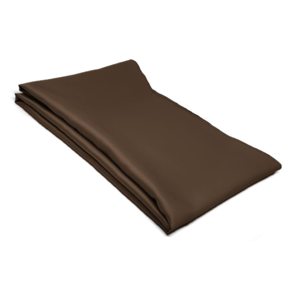 Terra Brown Solid Color Scarf