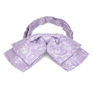 Thistle Purple Darlene Paisley Floppy Bow Tie