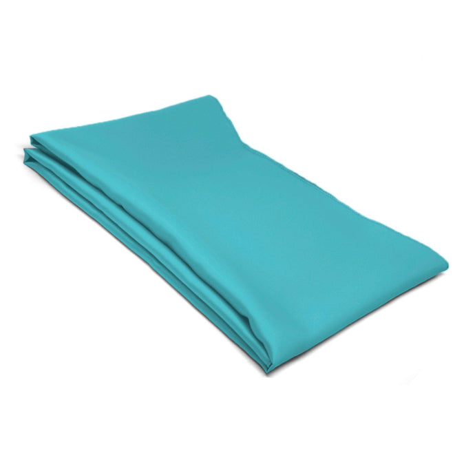 Turquoise Solid Color Scarf