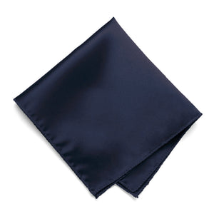 Twilight Blue Solid Color Pocket Square
