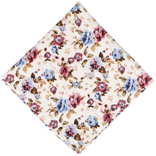 Load image into Gallery viewer, Ridgecrest Floral Cotton Pocket Square
