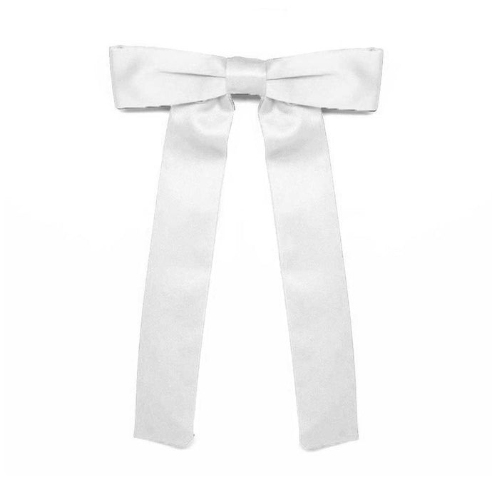 White Kentucky Colonel Tie