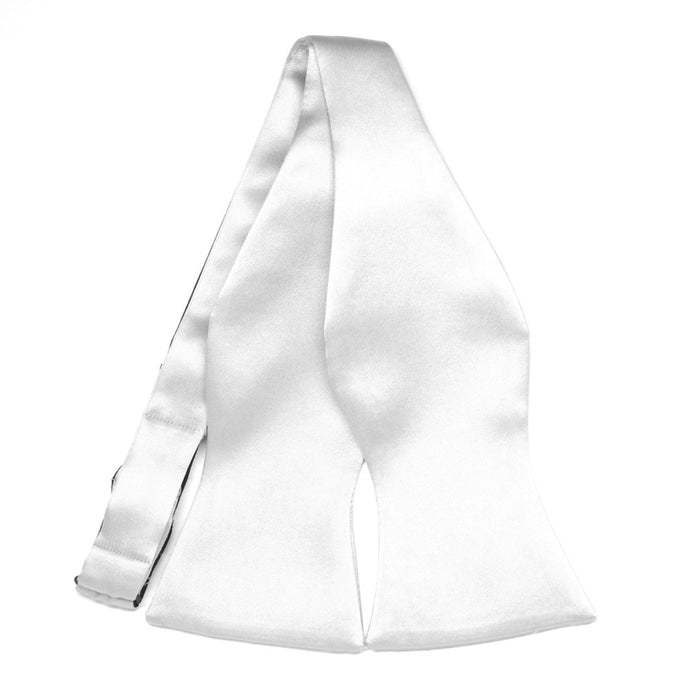 White Premium Self-Tie Bow Tie