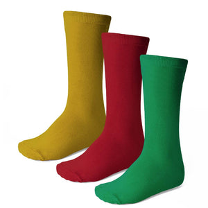 Women's Crew Socks, 3-Pack