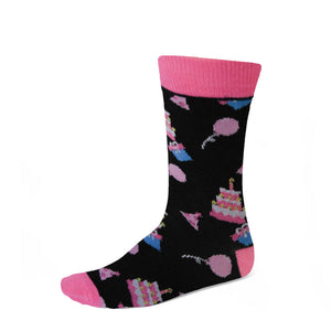 Women's Birthday Cake Socks