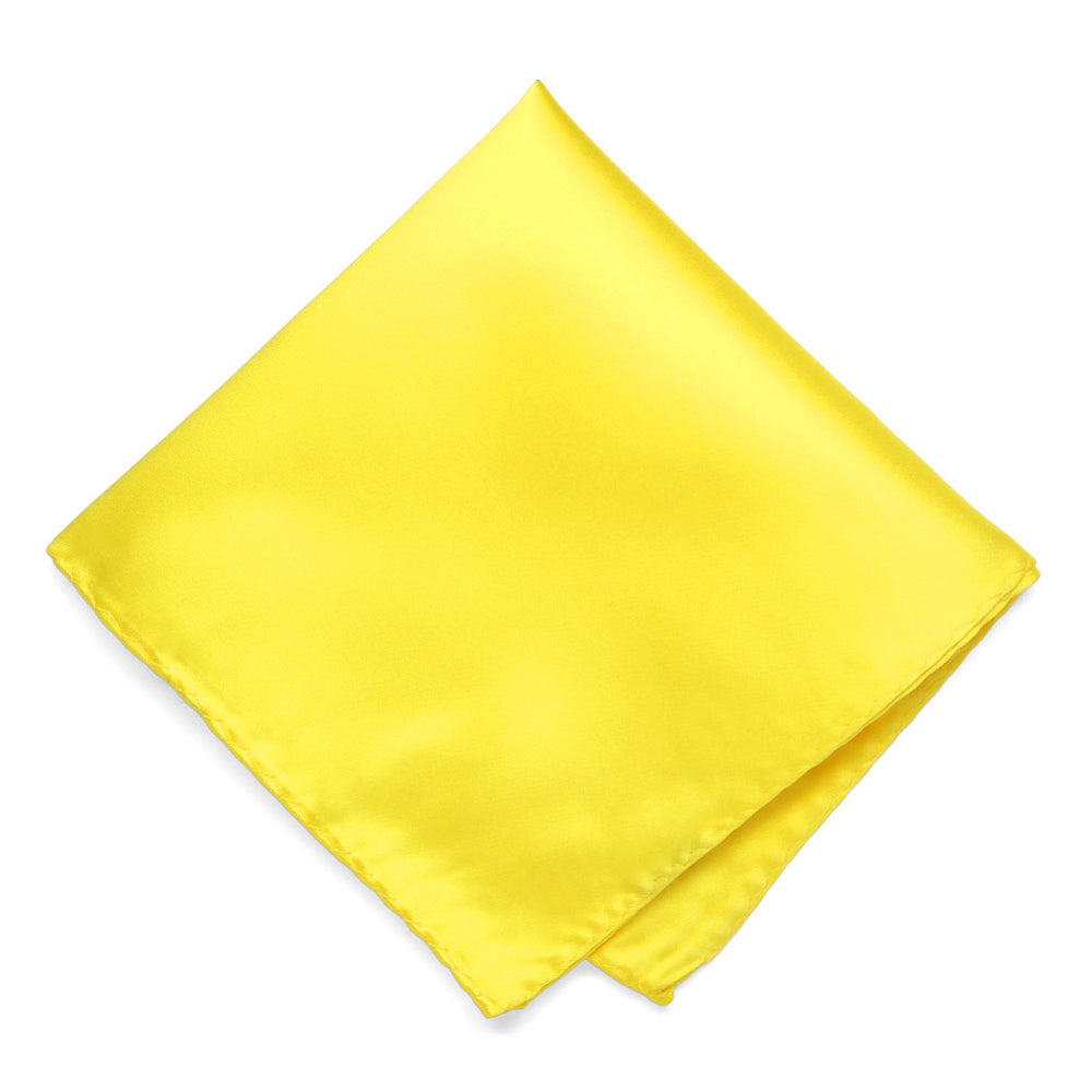 Yellow Premium Pocket Square