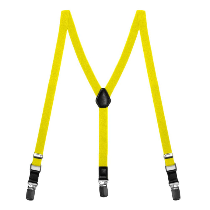 Yellow Skinny Suspenders