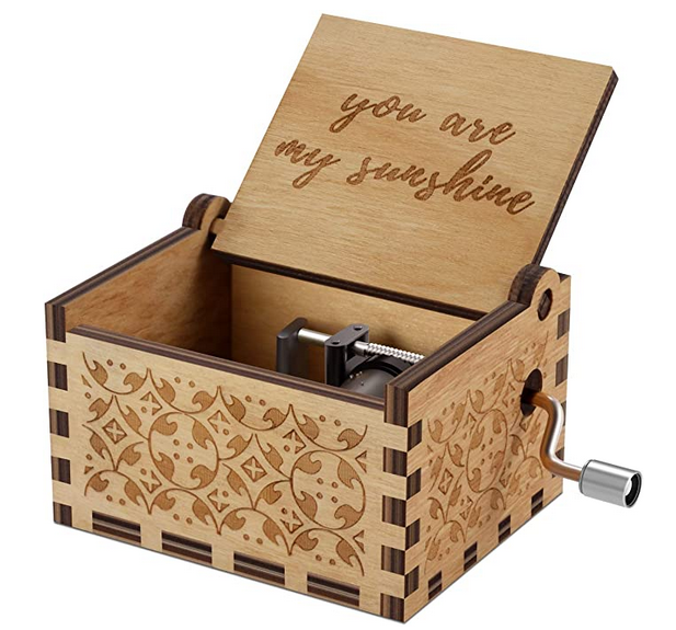 You are My Sunshine Wood Music Boxes