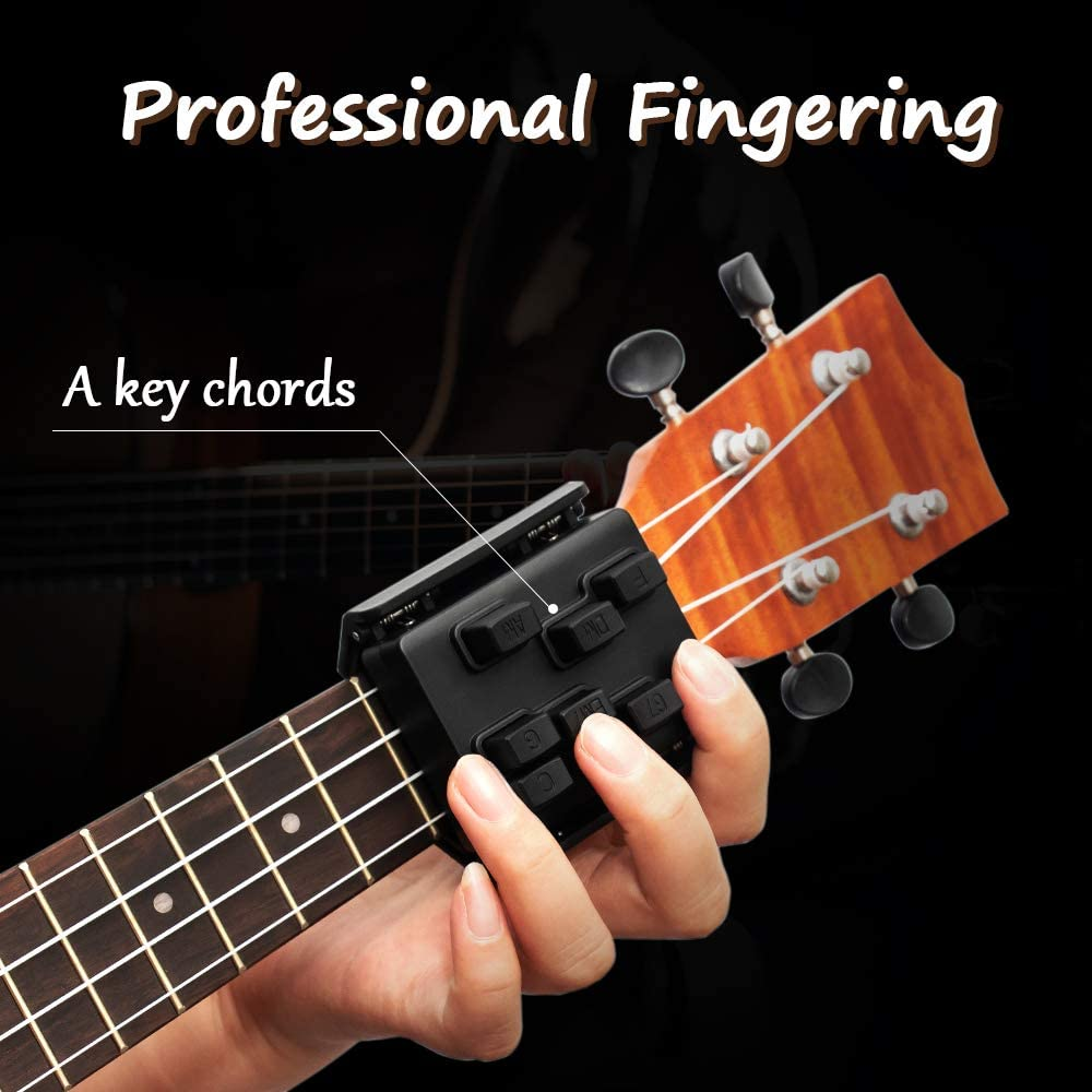 Chord Learning Tool for Ukulele