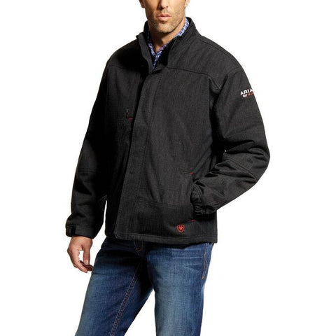 ARIAT FR H2O WATERPROOF INSULATED JACKET - MEN'S - BLACK - 10018144