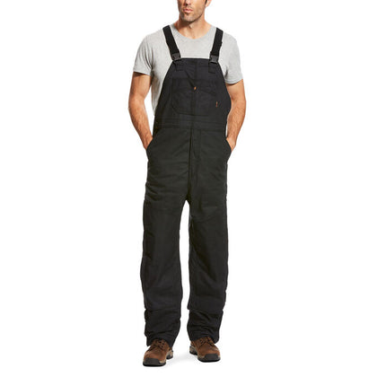 ARIAT FR INSULATED OVERALL 2.0 BIB - MEN'S BLACK - 10023457