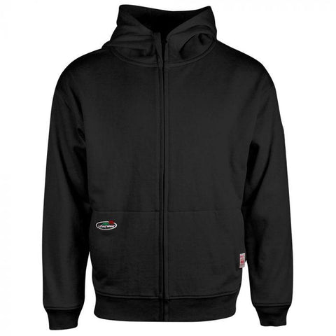 ARBORWEAR FR DOUBLE THICK FULL ZIP SWEATSHIRT  BLACK